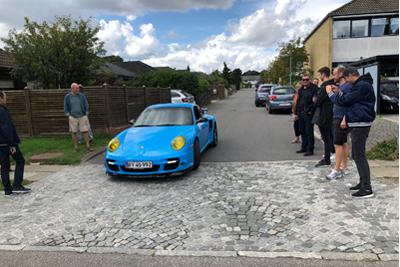 Porsche 911 Turbo S til polterabend