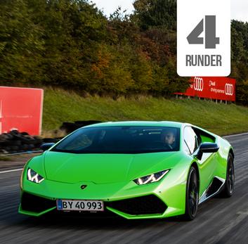 Kør Lamborghini Huracán på bane