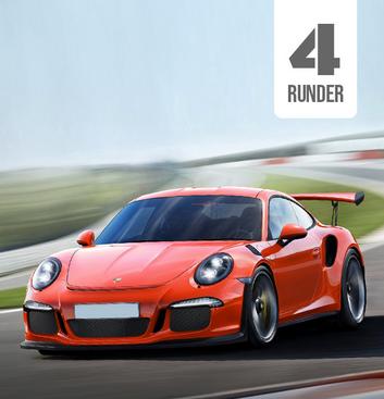 Kør en Porsche 911 GT3 RS på bane