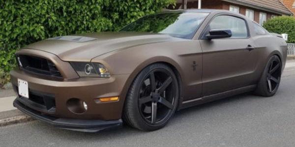 Lej en Ford Mustang