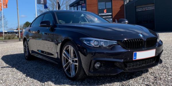 Lej en BMW 420 Gran Coupé