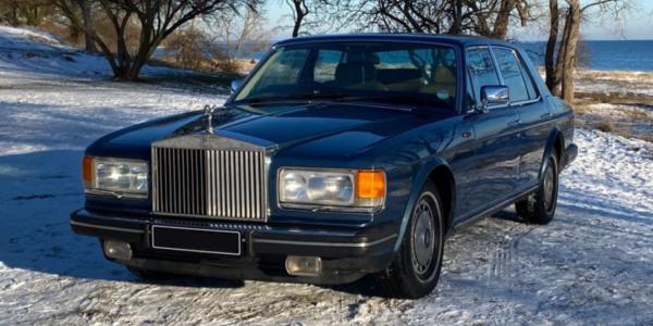 Lej en Rolls-Royce Silver Spirit