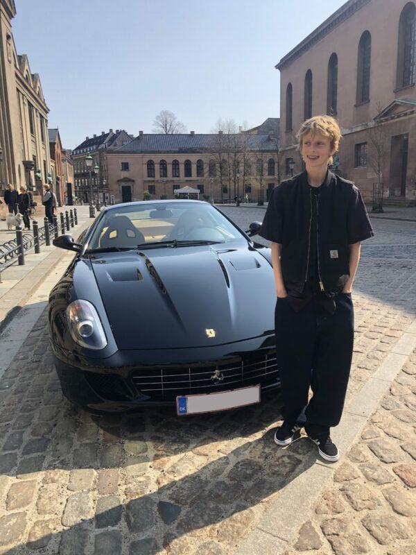 Konfirmationskørsel Ferrari 599GTB
