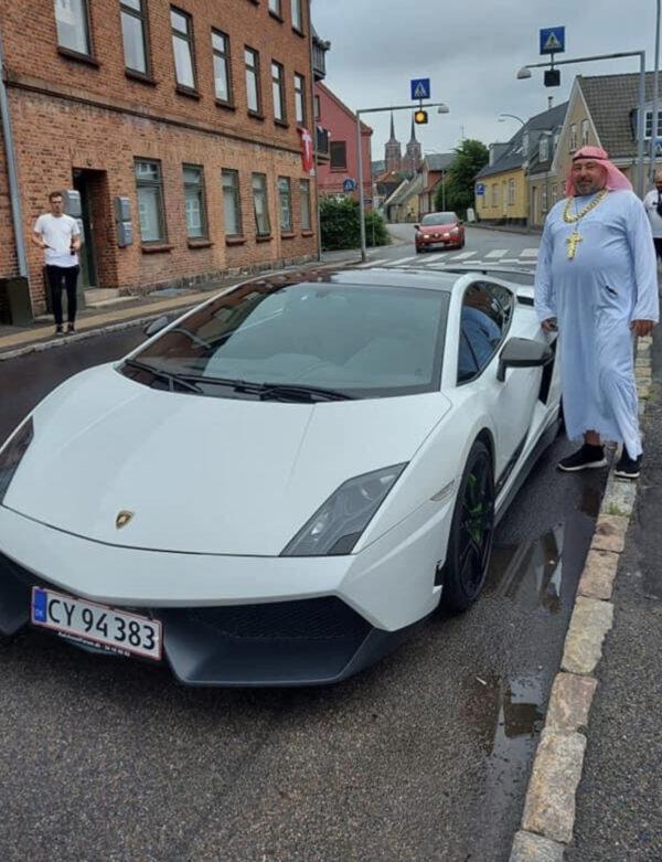 Bestil en Lamborghini til jeres event