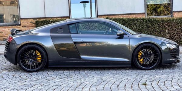 Lej en Audi R8 til konfirmation